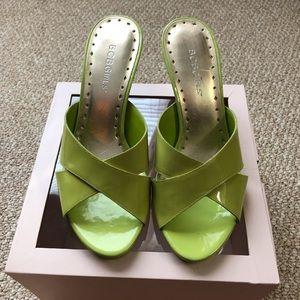 BCBG girls short wedge sandals